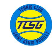 Tennis Club de Saint Genis Pouilly. TCSG